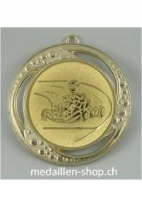 MEDAILLE GO-KART, 70 mm